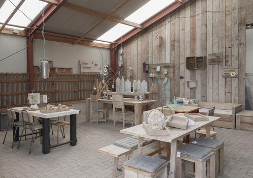 Meubels op maat van sloophout, steigerhout en pallets